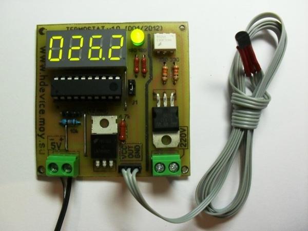 Электронное термореле своими руками253